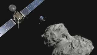 Комета «67P» подлетела максимально близко к Солнцу