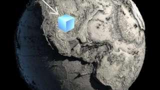 Ученые предположили, каковым был бы внешний вид нашей планеты без океанов
