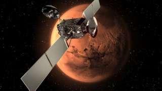 Роскосмос обещает запустить «Протон» к красной планете в начале 2016 года