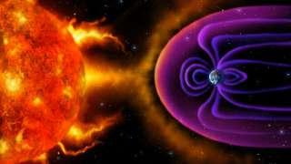 Наша планета остается под влиянием солнечных вспышек, которые провоцируют магнитные бури