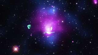 Телескоп «Чандра» обнаружил «феникса» в скоплении «Abell1033»