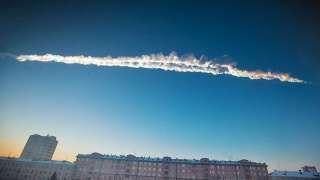 Размеры Челябинского метеорита упавшего 15 февраля 2013 года