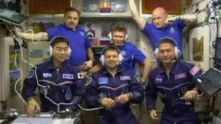 8 сентября экипаж Международной космостанции даст интервью журналистам с орбиты