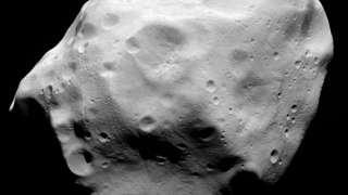Черная пирамида на астероиде