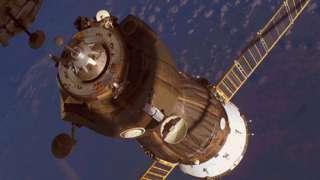 Перестыковка корабля «Союз ТМА16М» с Международной космостанцией