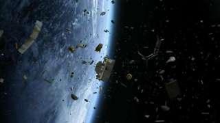 Роскосмос разрабатывает новый аппарат для уборки космоса