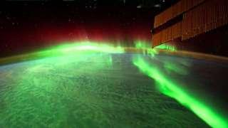 Световое шоу природного происхождения наблюдали астронавты МКС 7 сентября