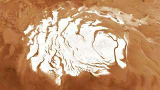 Марсианскую зиму зафиксировал аппарат НАСА «Mars Express»