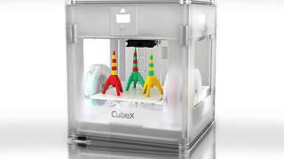 Космический корабль напечатанный на 3D-принтере.