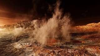 Самой серьезной угрозой для исследовательской техники на Марсе являются «пылевые бури»