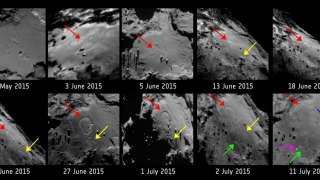 Комета «Чурюмова-Герасименко» видоизменяется на глазах у «Розетты»