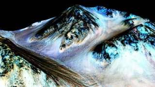 Сенсационное открытие – на Марсе обнаружена вода