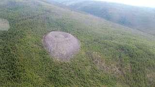 Патомский кратер – объект неизвестного происхождения, который считают местом падения НЛО