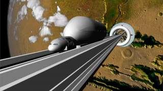 Лифт в космос планирует построить Япония
