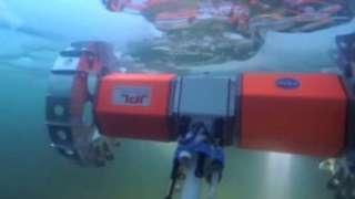 Испытание колесного робота НАСА