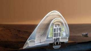 Представители НАСА определились с проектом марсианского дома для колонизаторов