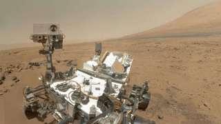 «Curiosity» готовится к бурению очередного отверстия на Марсе