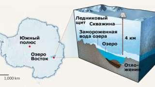 Озеро Восток поможет ученым изучить внеземные формы жизни