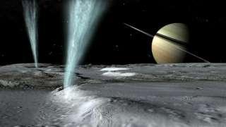 «Кассини» приступает к изучению спутника Сатурна - «Энцелада»