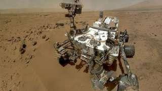 Новое селфи марсохода «Curiosity»