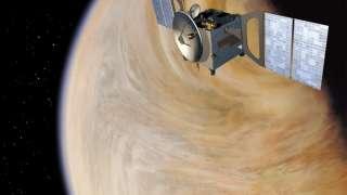 Новые данные со спутника «Венера-экспресс»