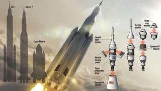 Первый испытательный этап ракеты «Space Launch System» прошел успешно - сообщают представители НАСА