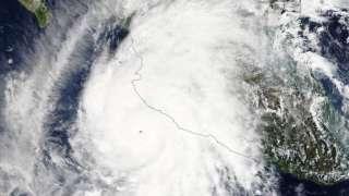 Космические фото и видео урагана «Патрисия» опубликовали представители НАСА