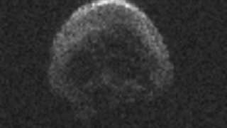 NASA представило фото Хэллоуинского астероида