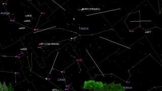 Метеоритный поток «Тауриды» и не только ожидает жителей Латвии