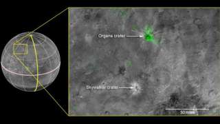 На поверхности Харона нашли молодой аммиачный кратер