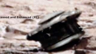 На Марсе обнаружили неисправный космический аппарат пришельцев