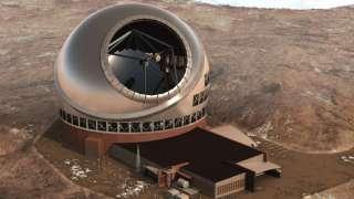 В пустыне Атакама (Чили) строят самый большой телескоп