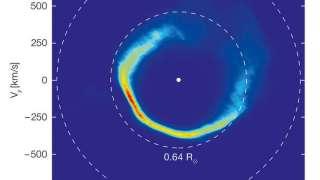 Астрономы увидели, как «белый карлик» разорвал астероид