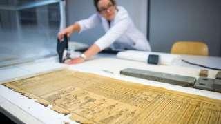 Немецкие ученые расшифровали папирус возрастом 2000 лет