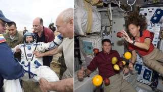 Крис Хэдфилд, Скотт Паразински, Боб Кербим и Ли Со Ен рассказали о работе в космосе