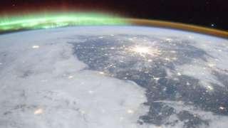 «Изумрудную корону» Земли сфотографировали сотрудники МКС