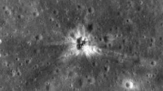 Зонд «LRO» нашел место прилунения «Аполлона № 16»