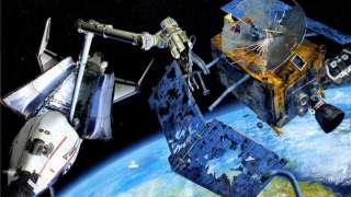 Новый аппарат для сбора космического мусора придумали сотрудники Университета Цинхуа (КНР)