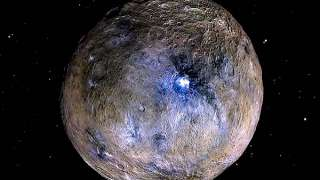Секрет ярких кратеров Цереры разгадали сотрудники NASA