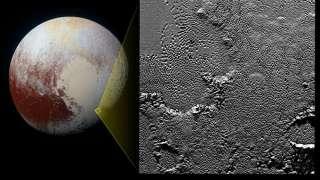 В интернет попал фотоснимок одного из самых загадочных районов Плутона