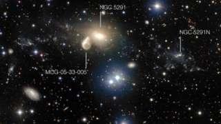 Последствия столкновения массивных галактик запечатлил телескоп «VLT»