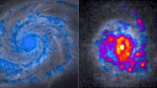 Почему некоторые галактики становятся «комковатыми»