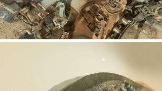 «Curiosity» снял селфи на фоне песчаных марсианских дюн