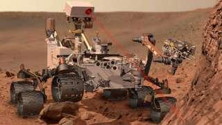 «Curiosity» нашел азот на Марсе