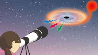 Черную дыру можно рассмотреть с помощью любительского телескопа