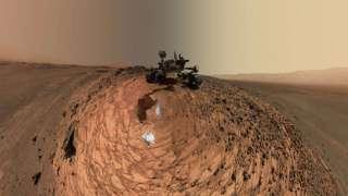 «Curiosity» прислал новое селфи с Марса