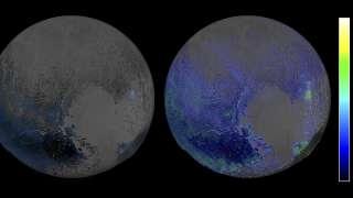 Количество водяного льда на Плутоне превзошло все ожидания