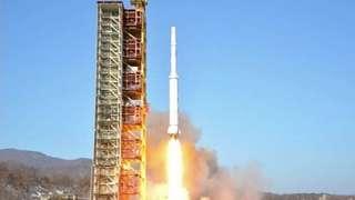 КНДР намерено взорвала первую ступень своей ракеты