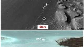 На Марсе обнаружены следы новых древних обитаемых озер