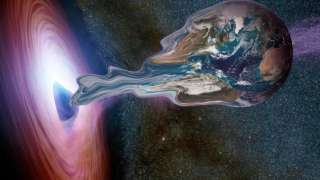 Что произойдет с Землей в черной дыре